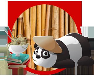 Bambooland Wildau A10 Center essender Panda